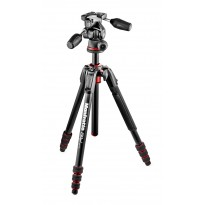 Manfrotto 190 GO! + Rótula 3 WAY (Aluminio)