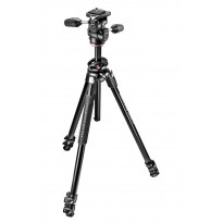 Manfrotto 290 DUAL + Rótula 3 WAY (Aluminio)